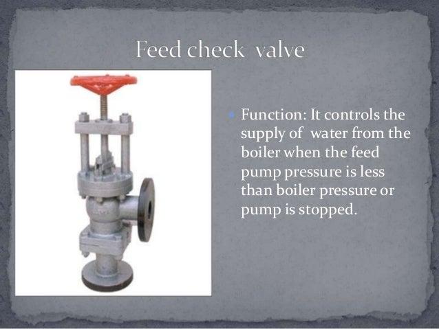 Boiler Check Valve ~ Boiler mountings accessories