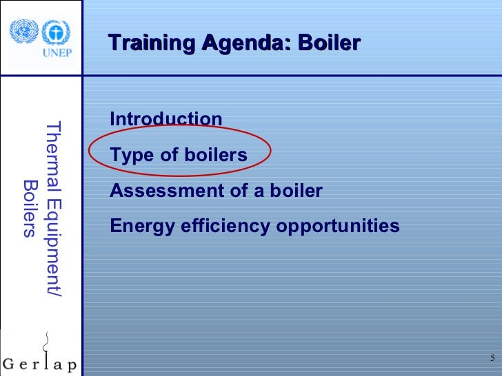 Boiler operation