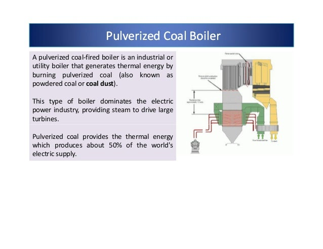 How do coal-burning boilers compare with other types of boilers?