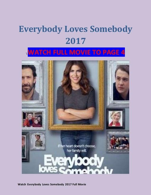 Everybody Loves Somebody Stream