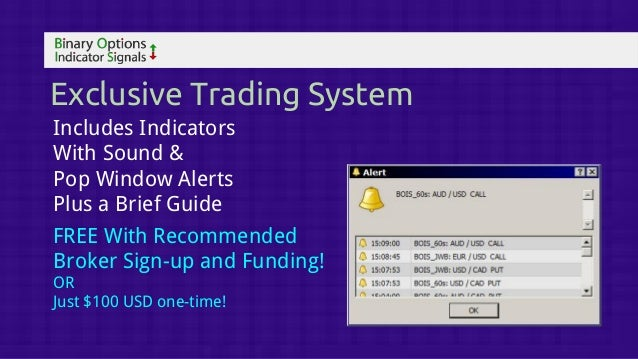 Binary option trading signals results