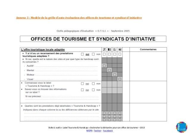 Mopa boite a outils accessibilit tourisme et handicap - Office de tourisme et des congres de paris ...