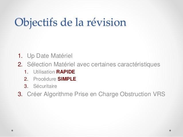 Plan B d'intubation à l'urgence Slide 3