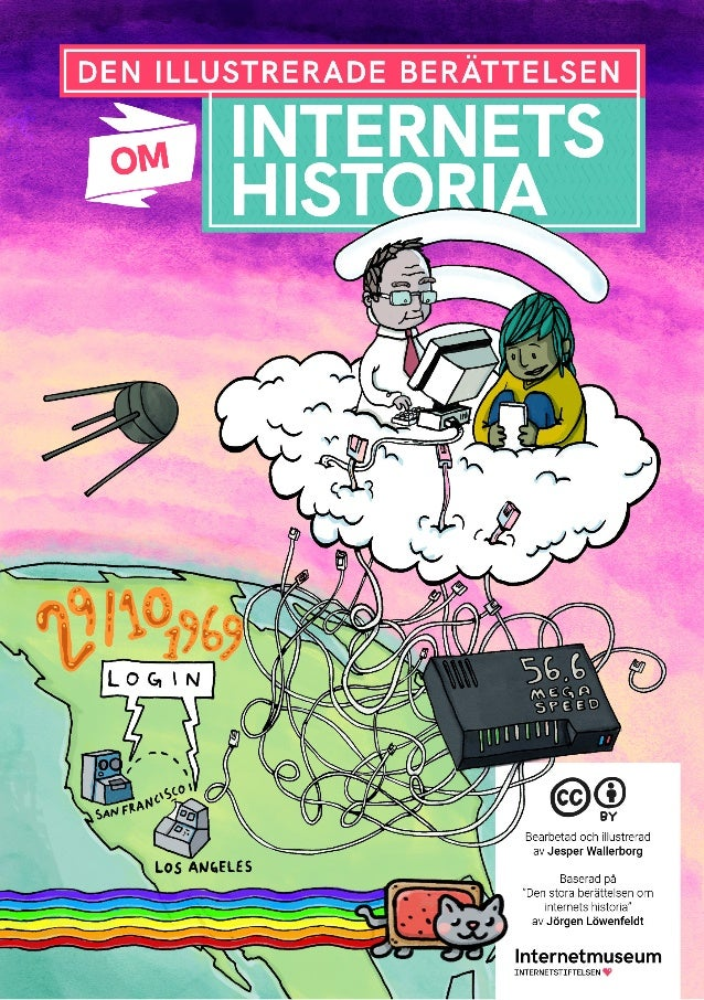 Det h�r �r bara b�rjan av den illustrerade ber�ttelsen om Internets svenska historia. Vad saknar du? Kommentera och ge f�r...
