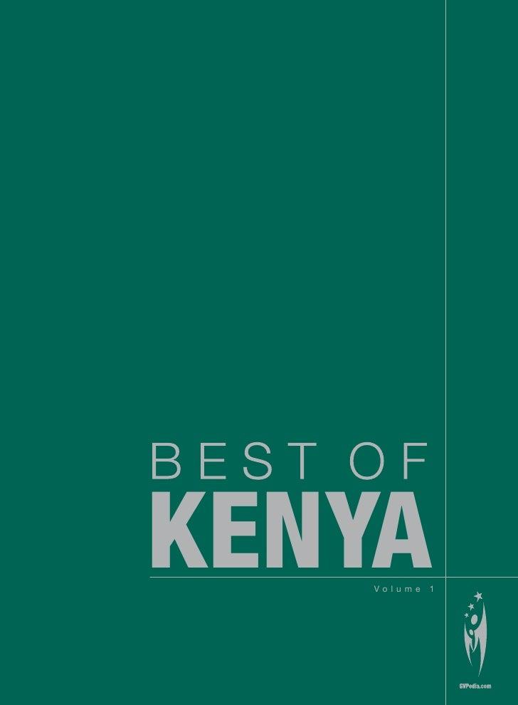 KENYA    Volume   1