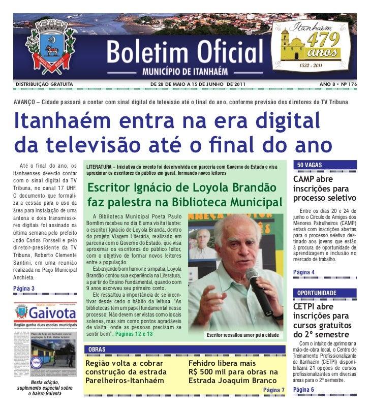 DistribUição gratUita                                       De 28 De maio a 15 De JUNHo De 2011                           ...