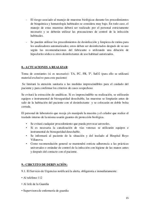 2014-10-16) ÉBOLA PROTOCOLO DE ACTUACIÓN (DOC)