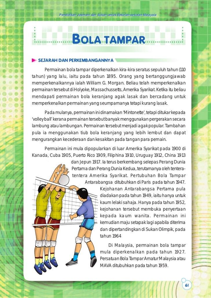 Pendidikan Jasmani dan Sukan untuk Sekolah-sekolah Malaysia                     BOLA TAMPAR   SEJARAH DAN PERKEMBANGANNYA ...