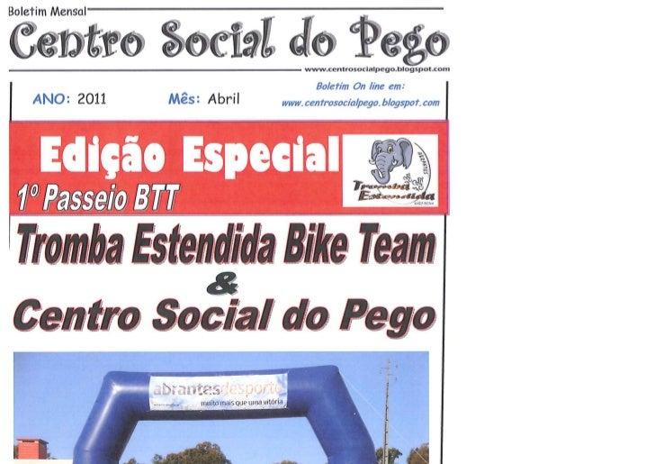 Boletim Edição Especial Abril
