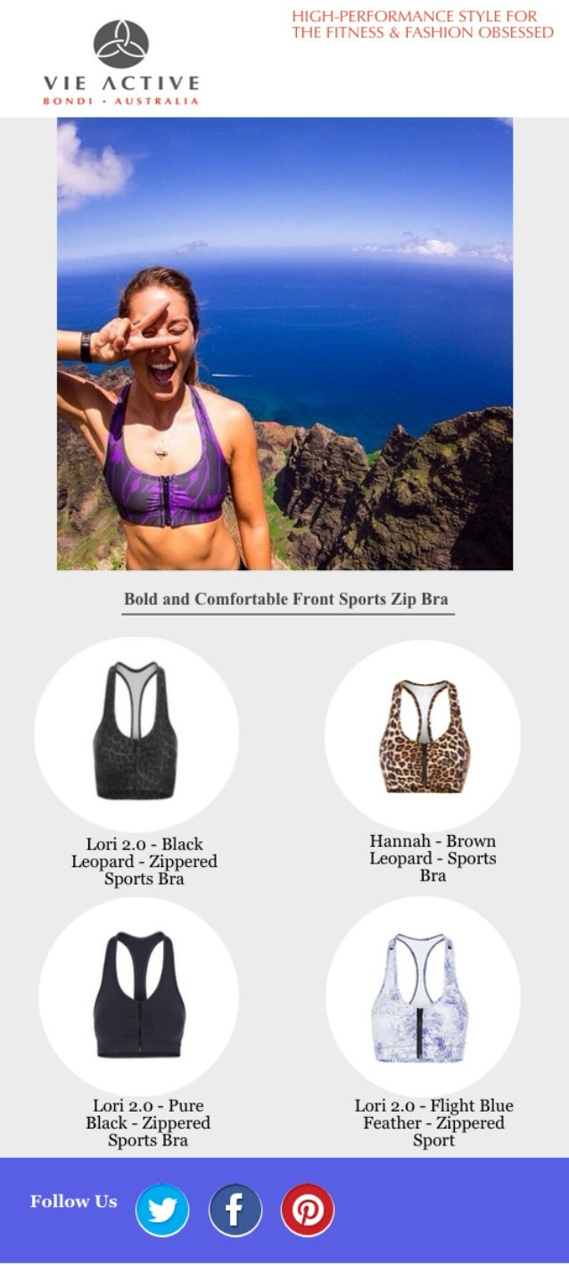 HIGH-l°ERF()RM/ .l(fE STYLE FOR    THE FITNESS .  F. *SHl()N ()BSESSED  VIE ACTIVE  BONDI - »lJSTRAl  A  Bold and Comforta...
