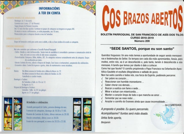 INIORMACIONS -'l $ILOS fns Bmmffio$AffiffiffiT eouer�N pARRoeutAL DE sAN FRANctsco op as�s oc l ,l,r ,r,r i �, l l, lrirLt...