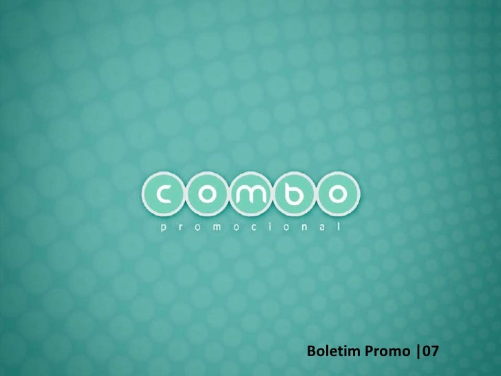 Boletim Promo  07