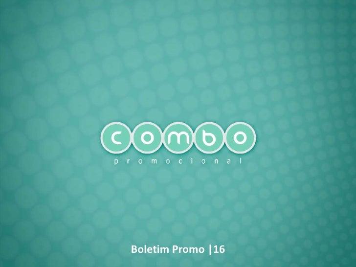 Boletim Promo |16
