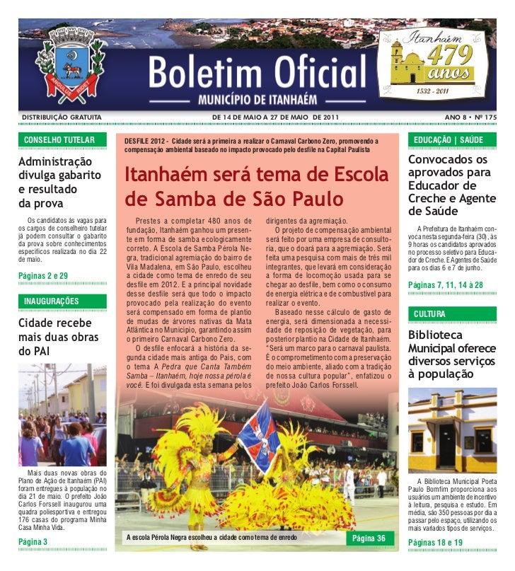 Distribuição gratuita                                          De 14 De maio a 27 De maio De 2011                         ...
