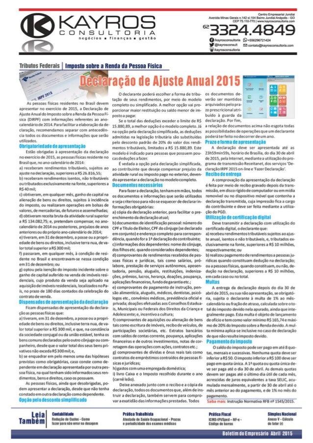 Centro Empresarial Jundiai Avenida Minas Gerais M42 sI.104 Bairro Jundiai Anápolis - 60 CEP 75.110-770 |  wwvakayrosoonsul...
