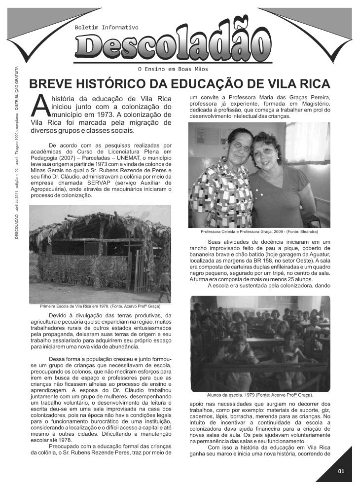 Boletim informativo 2ª edição