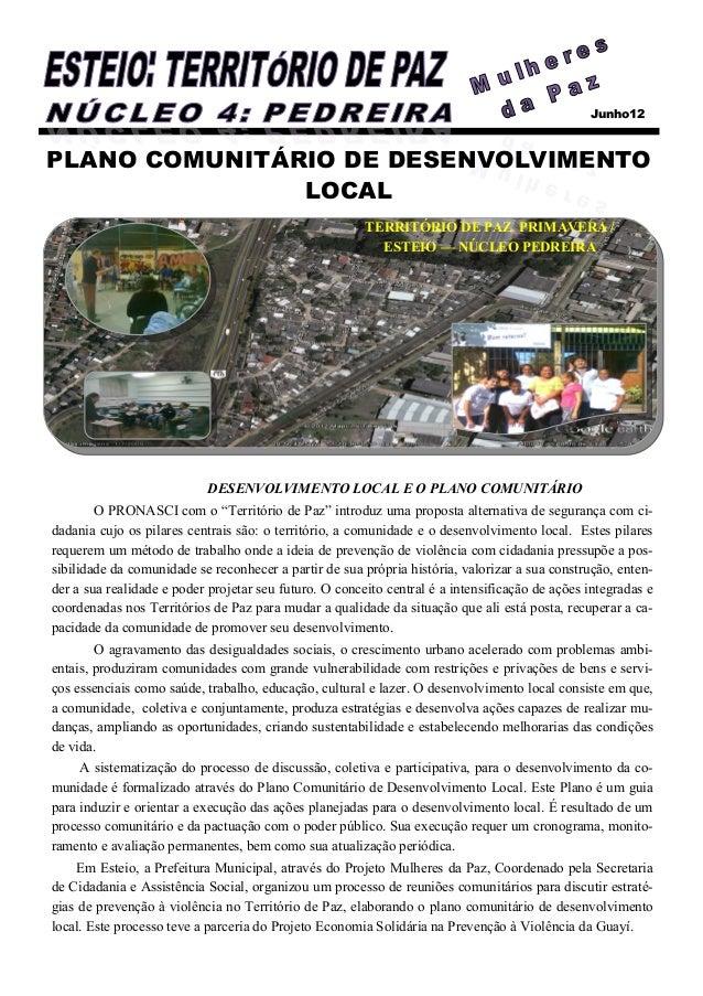 Junho12PLANO COMUNITÁRIO DE DESENVOLVIMENTO               LOCAL                                                        TER...