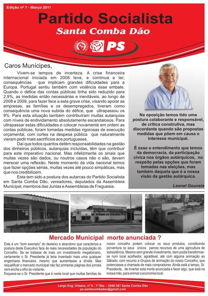 Boletim PS Santa Comba Dão