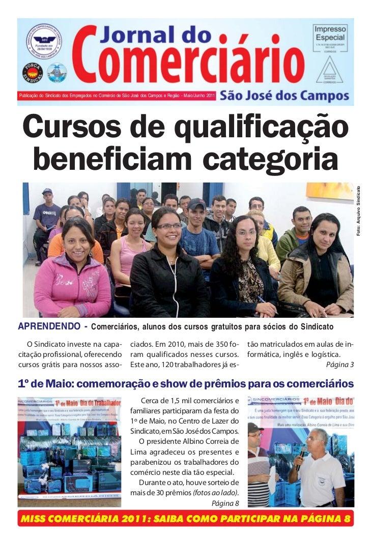 Jornal do Comerciário - 1Publicação do Sindicato dos Empregados no Comércio de São José dos Campos e Região - Maio/Junho 2...
