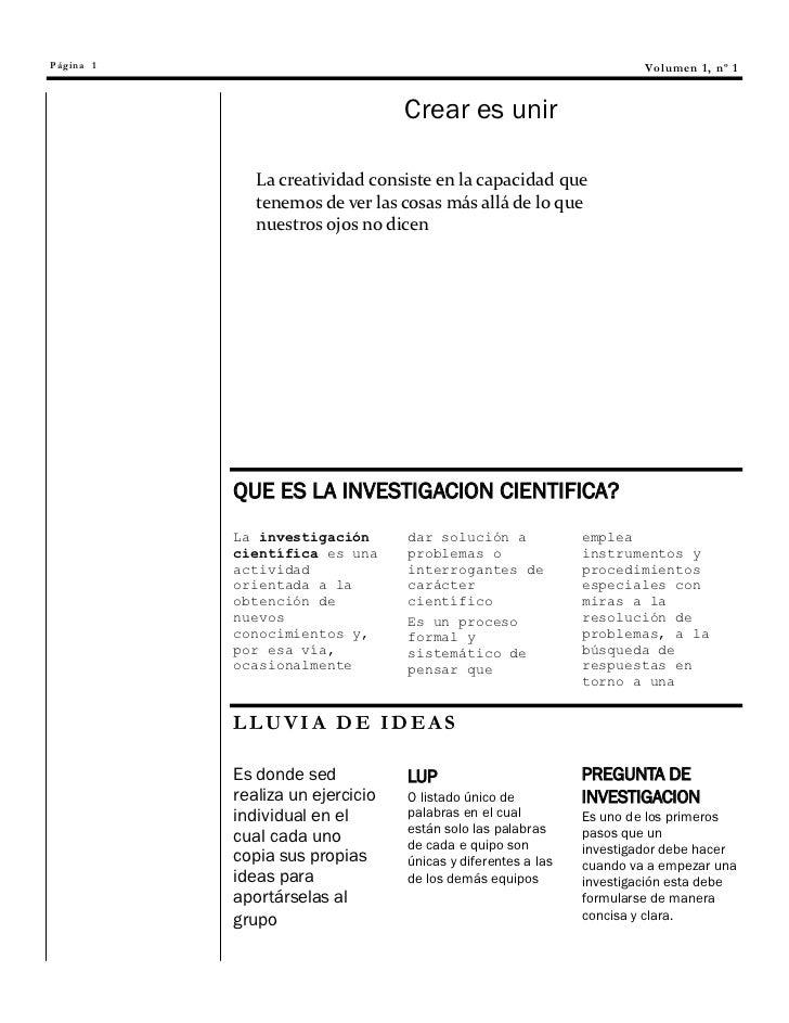 Página 1                                                               V o l um e n 1 , nº 1                              ...
