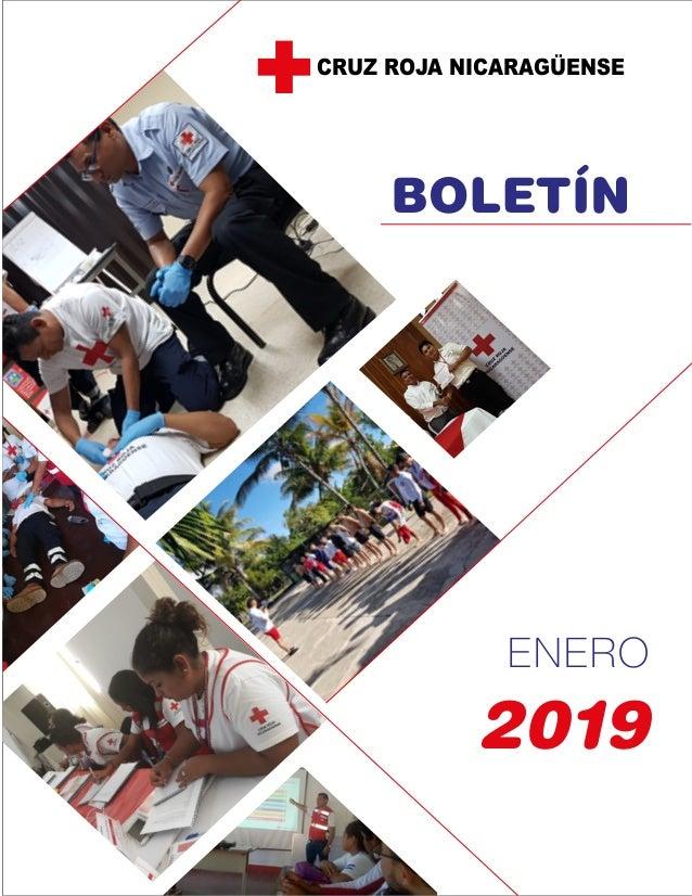 BOLETÍN ENERO 2019 CRUZ ROJA NICARAGÜENSE