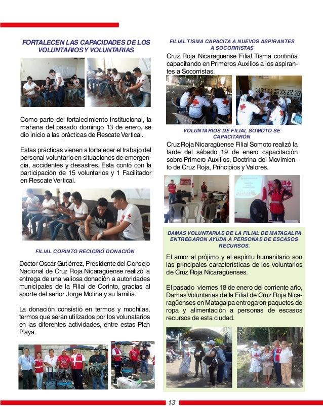 13 Como parte del fortalecimiento institucional, la mañana del pasado domingo 13 de enero, se dio inicio a las prácticas d...
