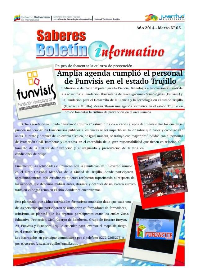 El Ministerio del Poder Popular para la Ciencia, Tecnología e Innovación a través de sus adscritos la Fundación Venezolana...