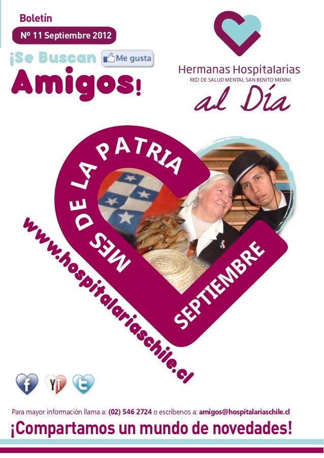 Boletín  Nº 11 Septiembre 2012                                                           al Día                           ...