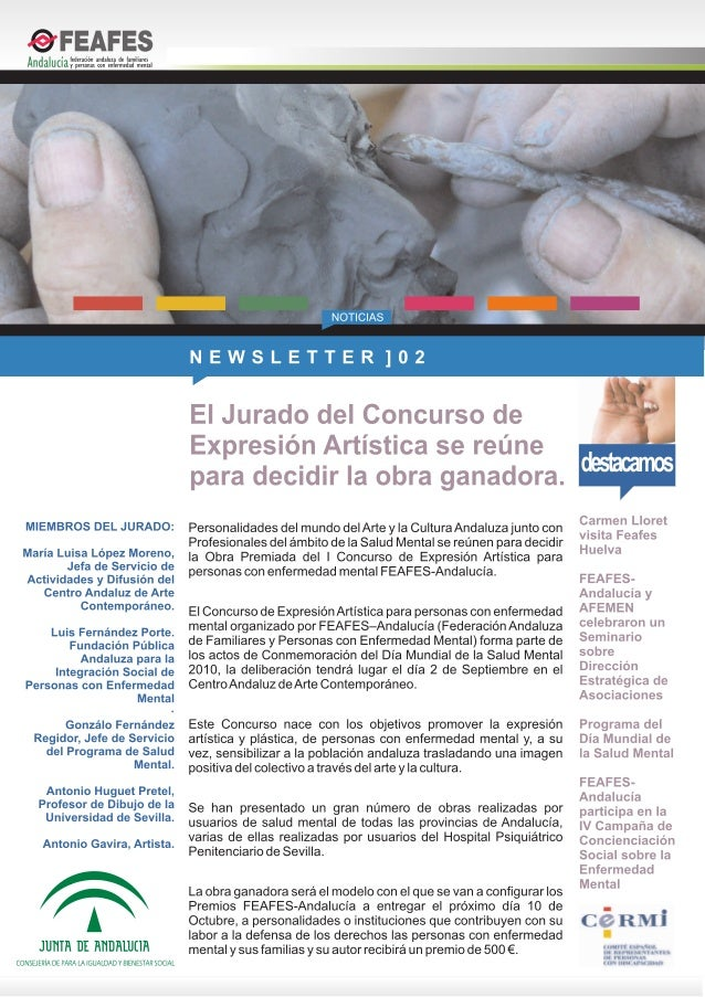 Boletín 02 de FEAFES-Andalucía