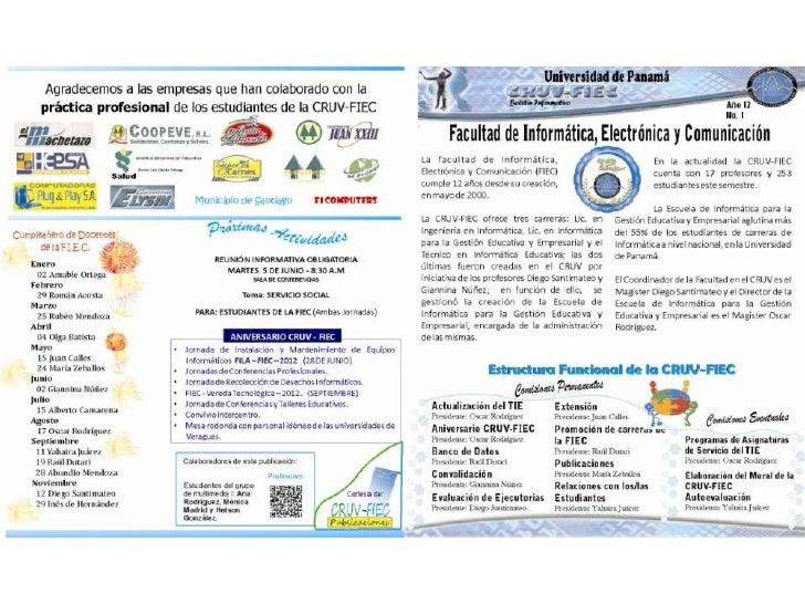 Boletin CRUV-FIEC1- 2012