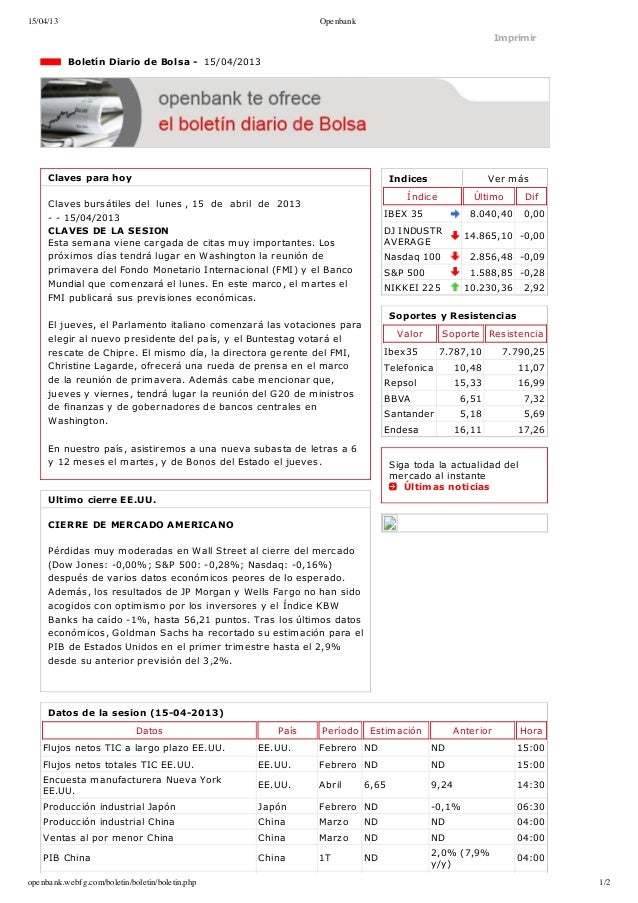 15/04/13                                                    Openbank                                                      ...