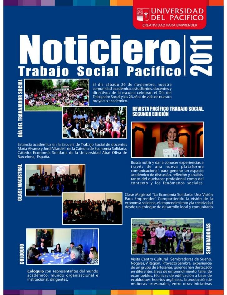 Boletín Trabajo Social - Edición 2011