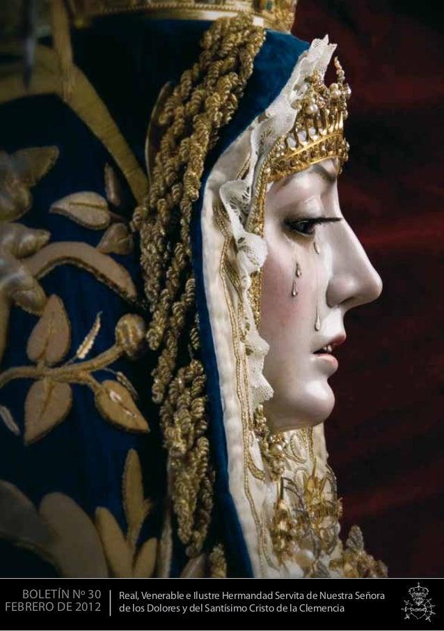 1 Real, Venerable e Ilustre Hermandad Servita de Nuestra Señora de los Dolores y del Santísimo Cristo de la Clemencia BOLE...