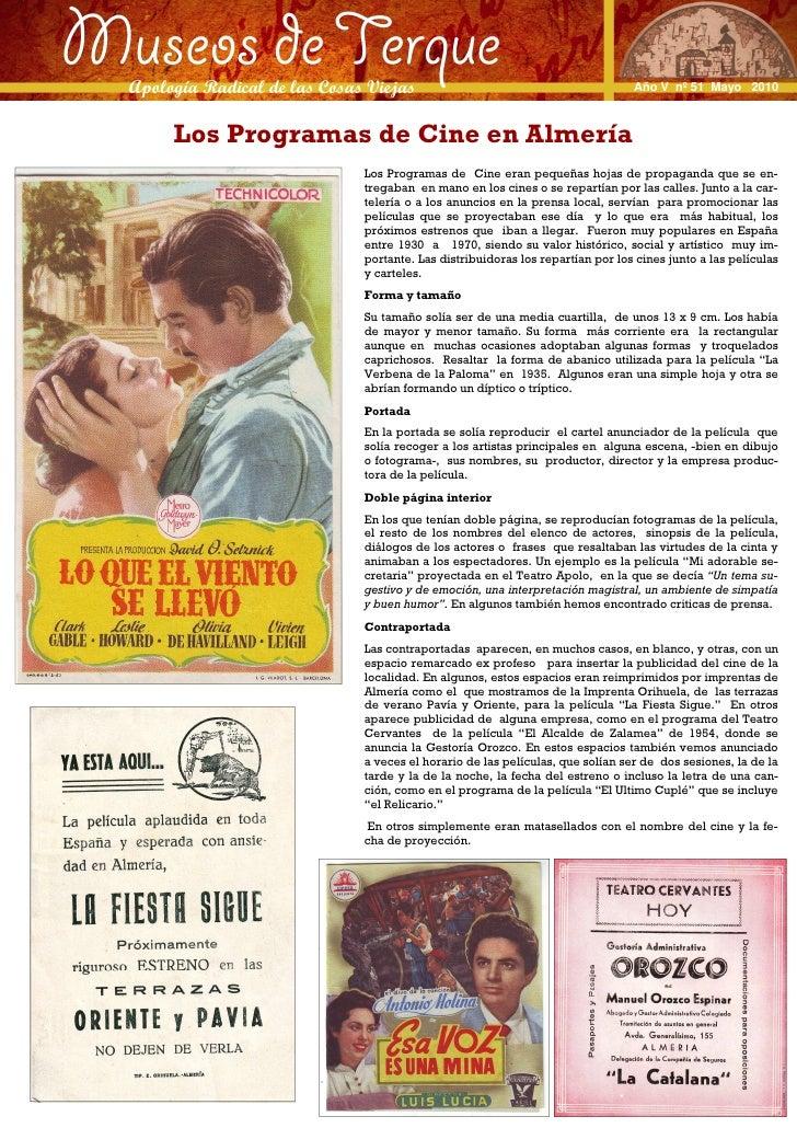 Museos de Terque  Apología Radical de las Cosas Viejas Apología Radical de las Cosas Viejas                               ...