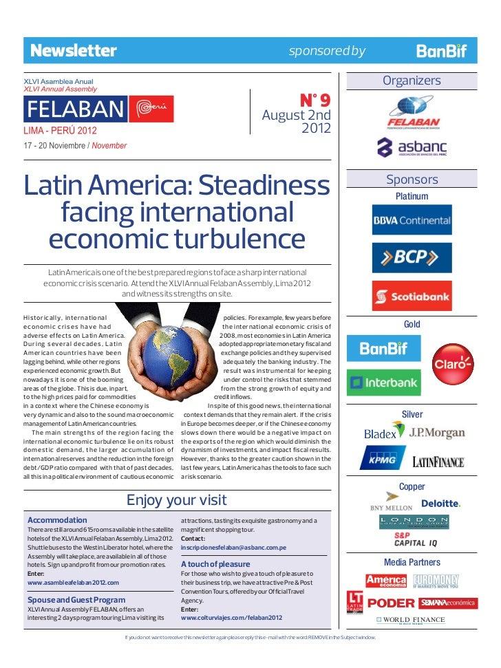impact of international economic turbulence Clia 2016 global economic impact study ii brea, the economic contribution of the international cruise industry in canada.