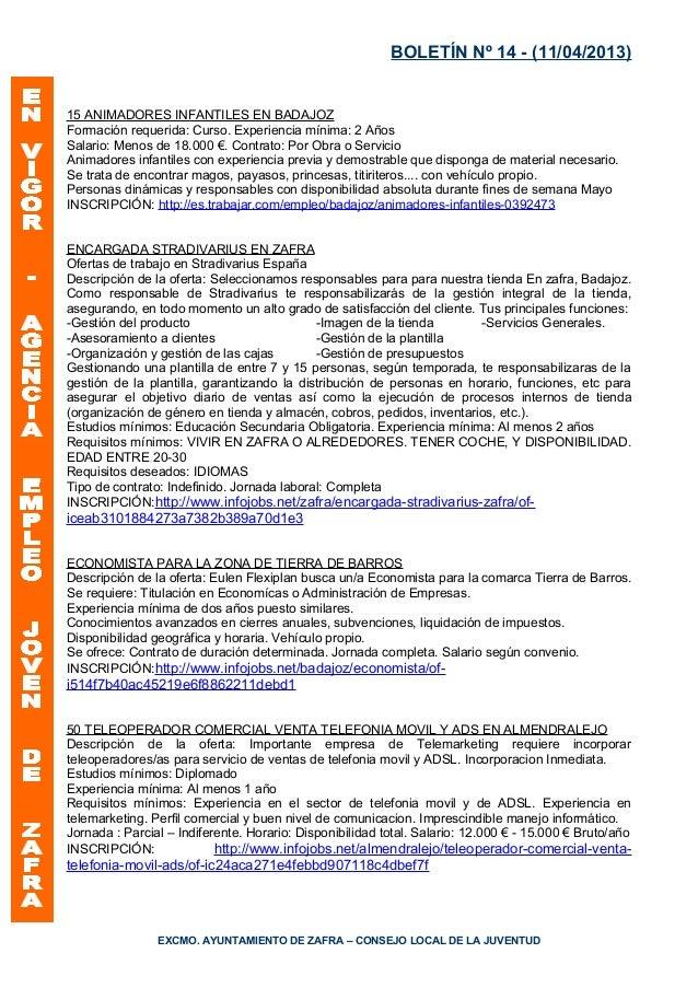 boletin aej 11 abril 2013