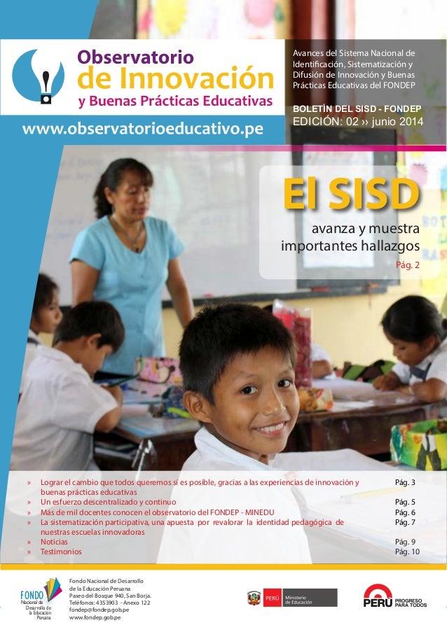 Fondo Nacional de Desarrollo de la Educación Peruana 1 FONDO Desarrollo de Nacional de la Educación Peruana Fondo Nacional...