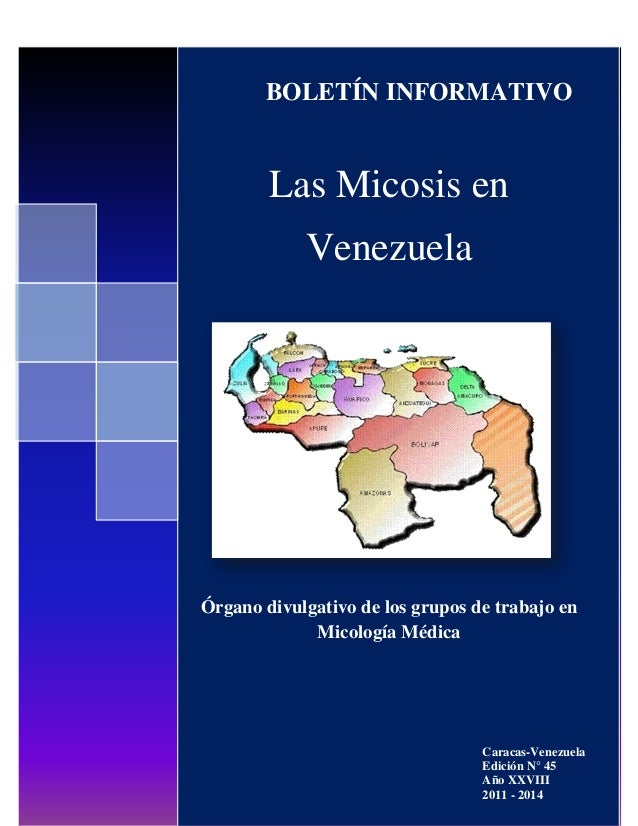 """Boletín """"Las Micosis en Venezuela"""" ® Grupos de Trabajo en Micología de Venezuela Fundadosen 1984 Las Micosis en Venezuela ..."""