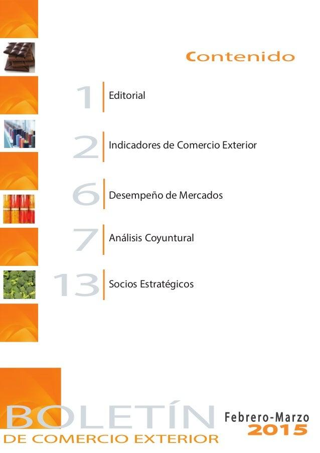 Informativo mensual de comercio exterior fedexpor febrero for De comercio exterior
