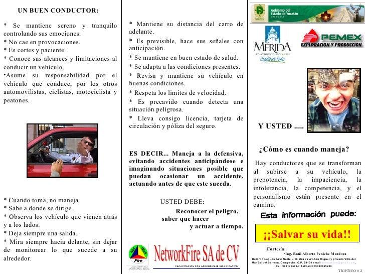 Esta  información  puede: ¡¡Salvar su vida!! <ul><li>Hay conductores que se transforman al subirse a su vehículo, la prepo...