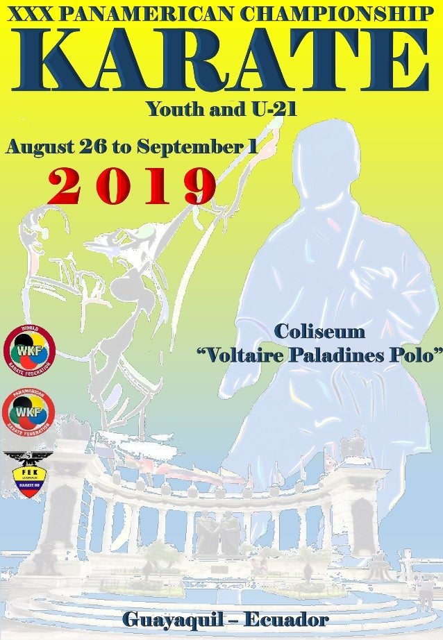 All National Federations that will participate in the XXX PANAMERICAN CHAMPIONSHIP OF YOUTH KARATE AND U21 are informed of...