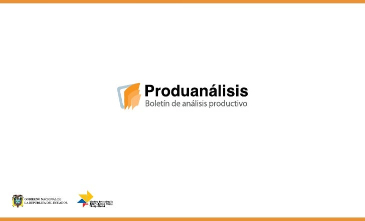 Produanálisis 1