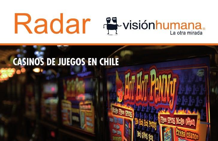 RadarCASINOS DE JUEGOS EN CHILE
