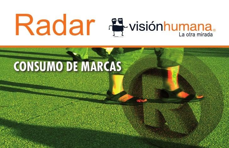 RadarCONSUMO DE MARCAS