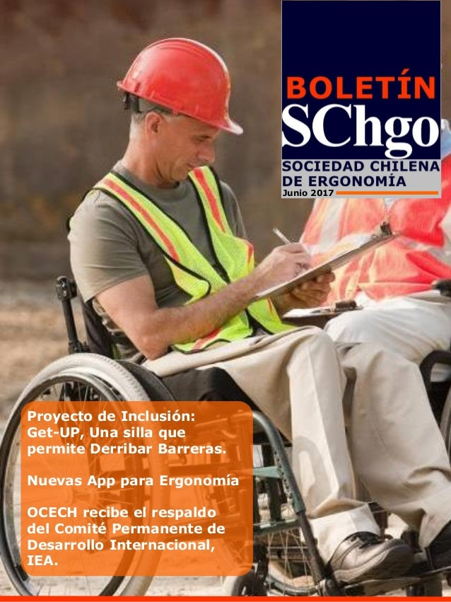 Proyecto de Inclusión: Get-UP, Una silla que permite Derribar Barreras. Nuevas App para Ergonomía OCECH recibe el respaldo...