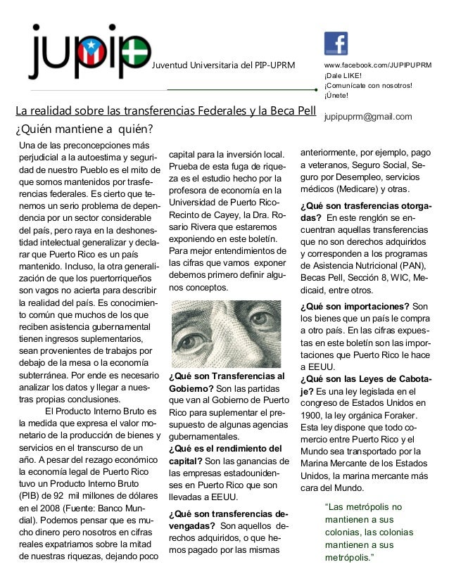 Juventud Universitaria del PIP-UPRM  www.facebook.com/JUPIPUPRM ¡Dale LIKE! ¡Comunícate con nosotros! ¡Únete!  La realidad...