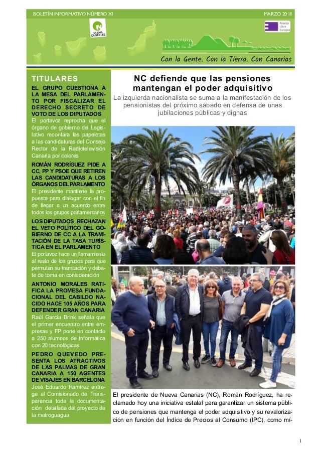 Boletín XI marzo 2018