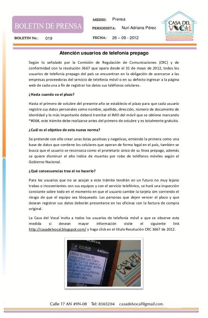 Prensa                                                        Nuri Adriana Pérez         019                              ...