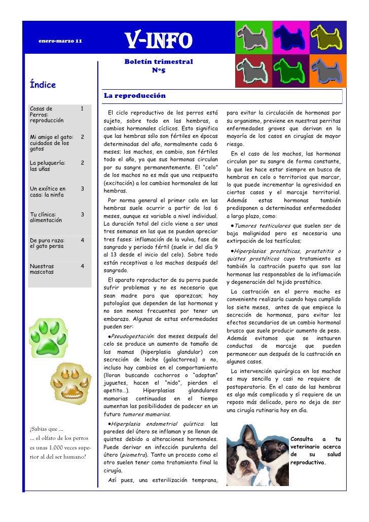enero-marzo 11                                    V-Info                                    Boletín trimestral            ...