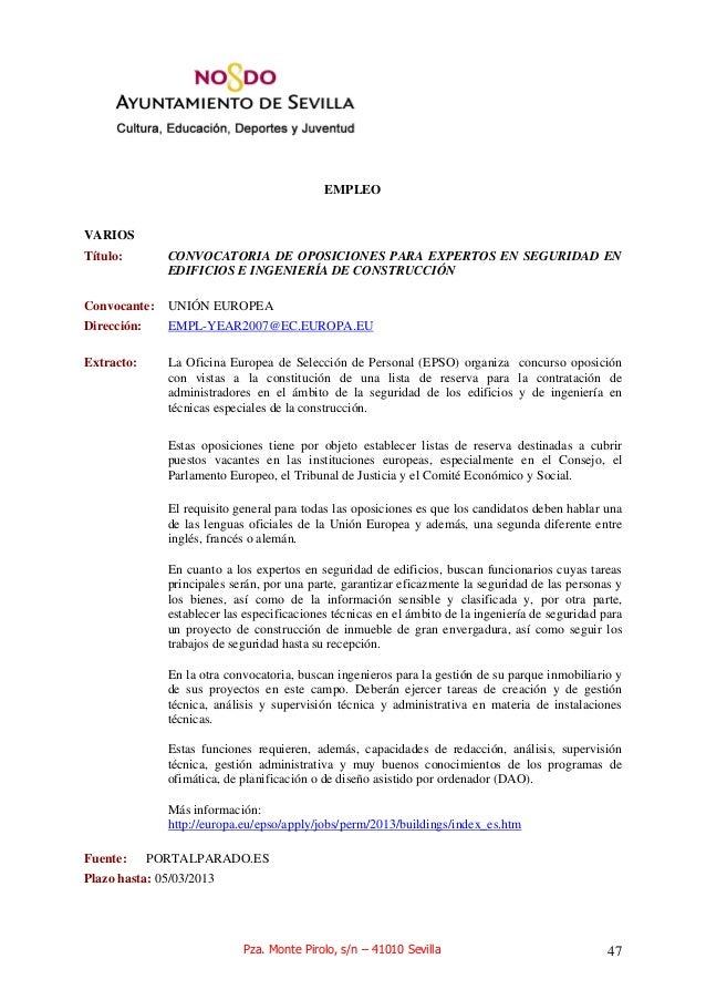 Oferta de empleo y cursos for Oficina de empleo aranjuez